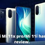 Features of Xiaomi Mi 11x pro.